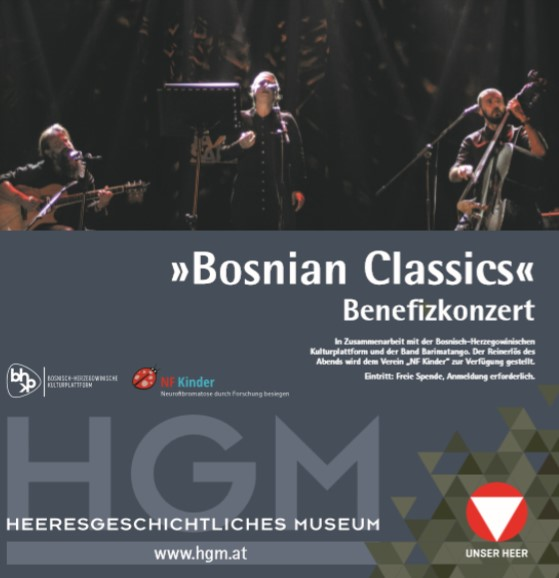 "Ein kulturelles Highlight: ""Bosnian Classics"" Benefizkonzert für NF Kinder"