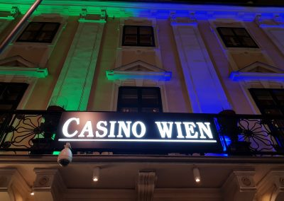 Casino Wien Shine a light on NF